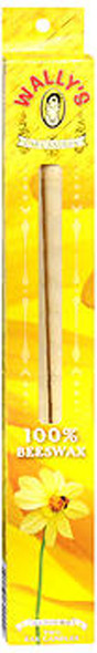Wally's Natural Luxury Collection Beeswax Ear Candles Unscented - 2 ct
