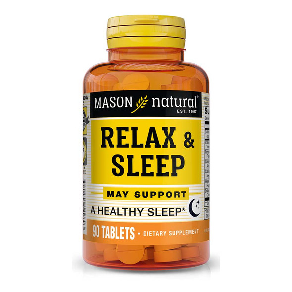 Mason Natural Relax & Sleep Tablets - 90 ct