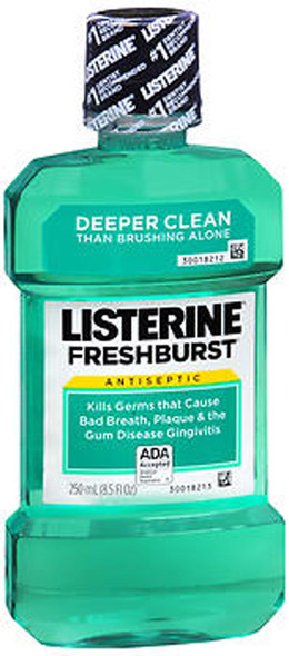 Listerine Mouthwash Fresh Burst - 8.3 oz