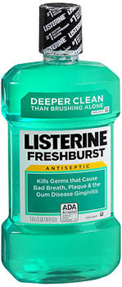 Listerine Mouthwash Fresh Burst - 33.8 oz