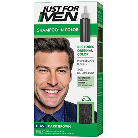 Just For Men Original Formula Haircolor Dark Brown H-45