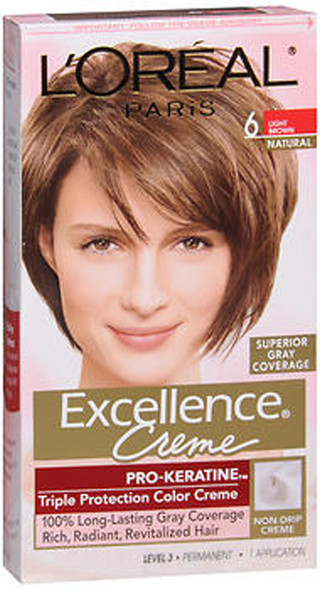 L'Oreal Excellence Creme - 6 Light Brown (Natural)
