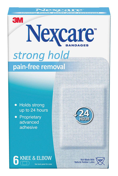 Nexcare Sensitive Skin Bandages Knee & Elbow - 6 ct