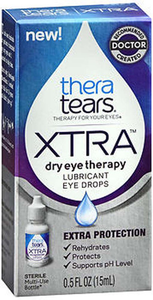 TheraTears Xtra Dry Eye Therapy Lubricant Eye Drops - 0.5 oz