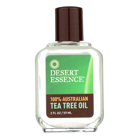Desert Essence Tea Tree Oil - 100 Percent Australian - 2 Oz