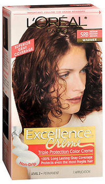 L'Oreal Excellence Creme - 5RB Medium Reddish Brown (Warmer)