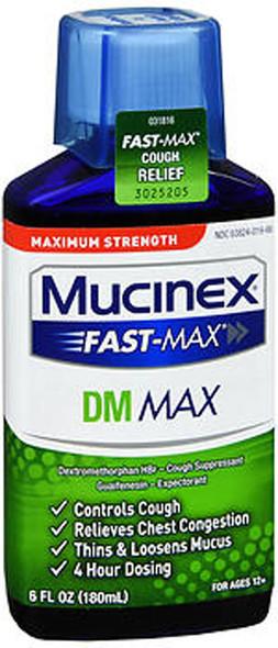 Mucinex DM Fast Max Liquid - 6 oz