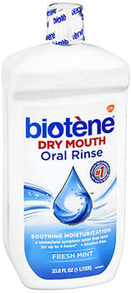 Biotene Dry Mouth Oral Rinse - 33.8 oz
