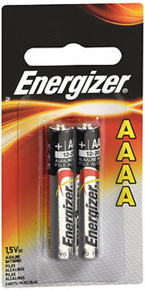 Energizer Alkaline Batteries AAAA - 2pk