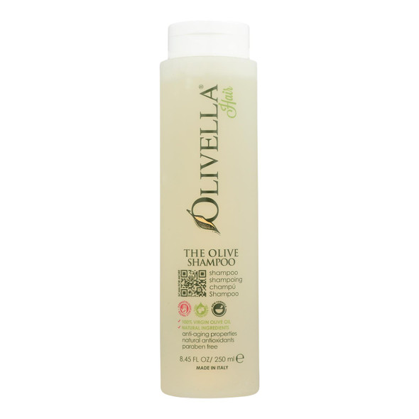 Olivella The Olive Shampoo Natural Formula - 8.5 Fl Oz