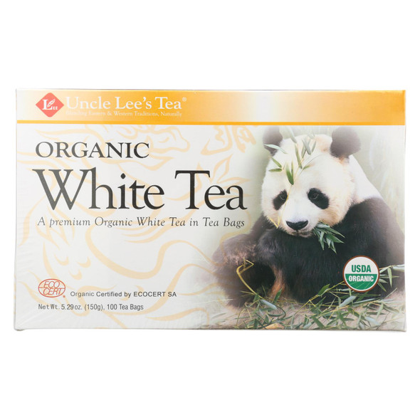 Uncle Lee's Legends Of China Organic White Tea - 100 Tea Bags