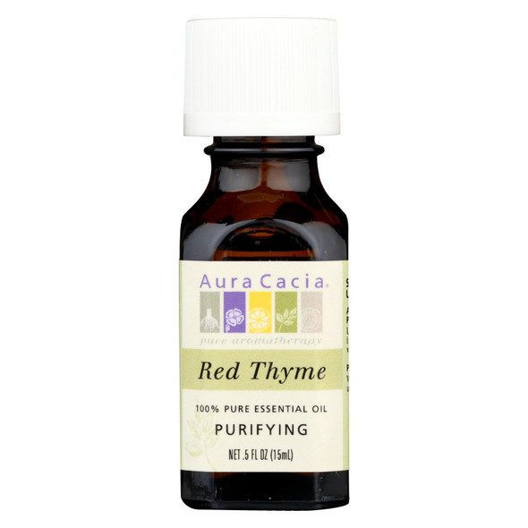 Aura Cacia Essential Oil - Red Thyme - .5 Oz