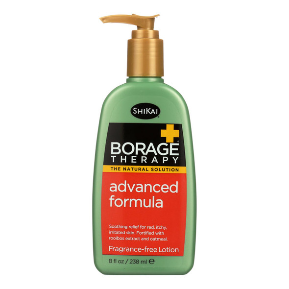 Shikai Borage Therapy Advanced Formula Fragrance Free - 8 Fl Oz