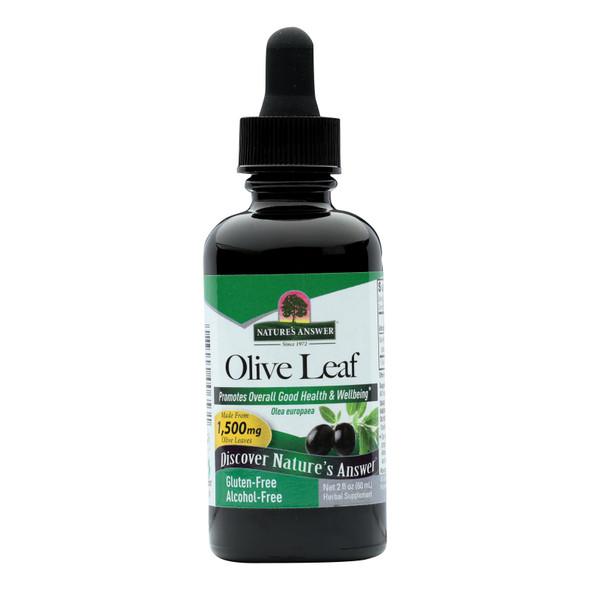 Nature's Answer Oleopein Olive Leaf Alcohol Free - 2 Fl Oz