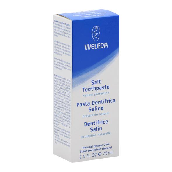 Weleda Salt Toothpaste Peppermint - 2.5 Oz