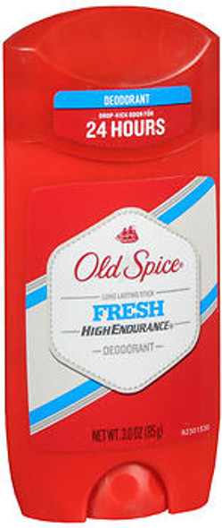 Old Spice High Endurance Deodorant Stick Fresh - 3 oz