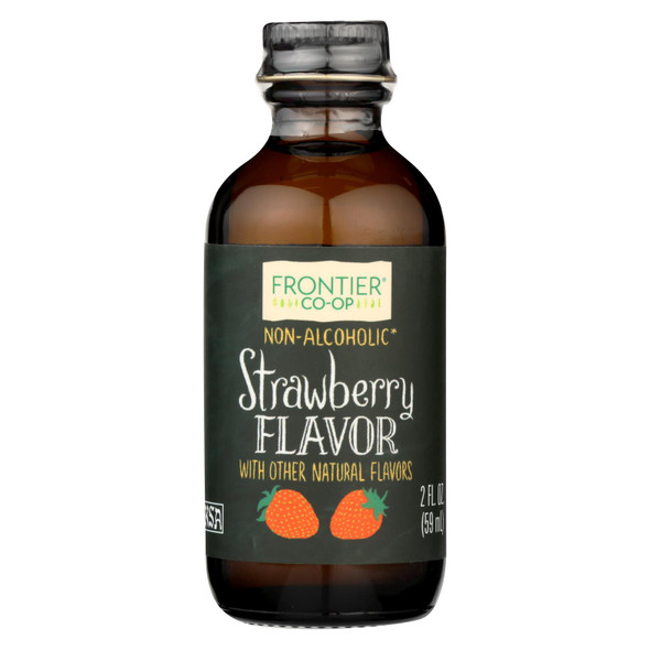 Frontier Herb Strawberry - Alcohol Free - 2 Oz