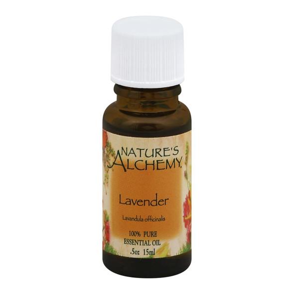 Nature's Alchemy 100% Pure Essential Oil Lavender - 0.5 Fl Oz