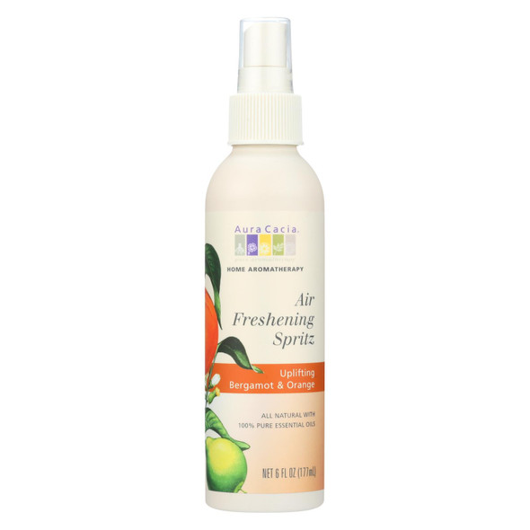 Aura Cacia Air Freshening Spritz Bergamot And Orange - 6 Fl Oz