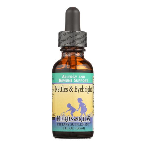 Herbs For Kids Nettles And Eyebright - 1 Fl Oz