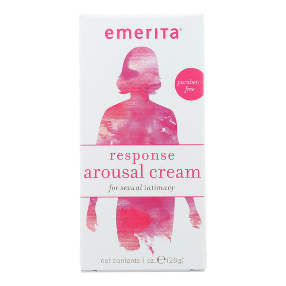 Emerita Responsetopical Sexual Arousal Cream For Women - 28 G - 1 Oz