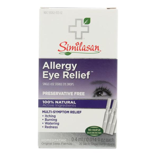 Similasan Allergy Eye Relief - 0.015 Fl Oz