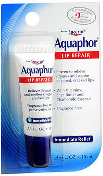 Eucerin Aquaphor Lip Repair - 0.35 oz