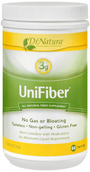 UniFiber Natural Fiber Supplement  8.4 oz