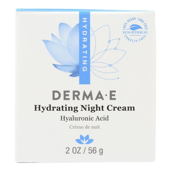 Derma E Hyaluronic Acid Night Creme - 2 Oz