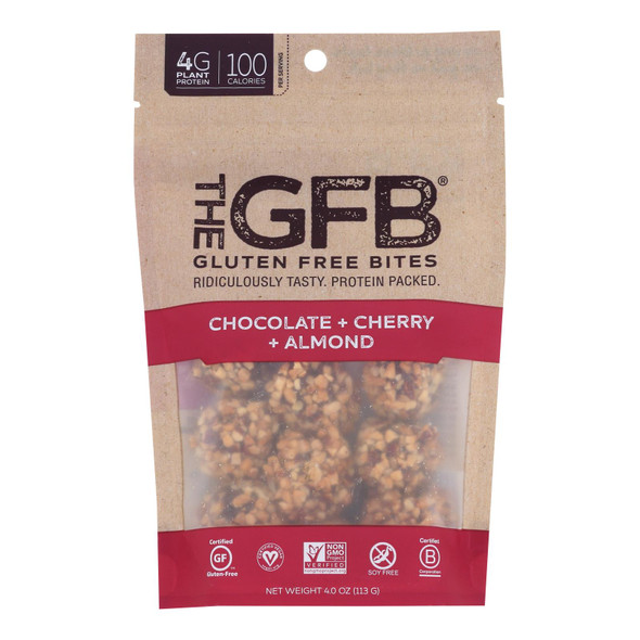 The Gluten Freeb Bites - Chocolate Cherry Almond - Case Of 6 - 4 Oz