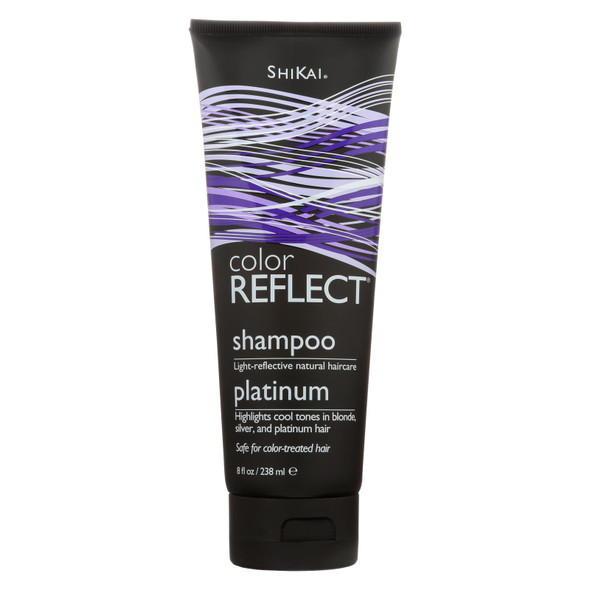 Shikai Color Reflect Platinum Shampoo - 8 Fl Oz
