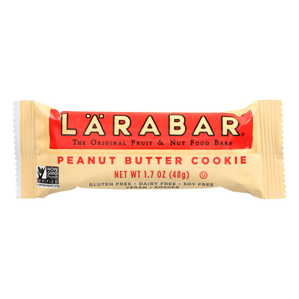 Larabar - Peanut Butter Cookie - Case Of 16 - 1.7 Oz