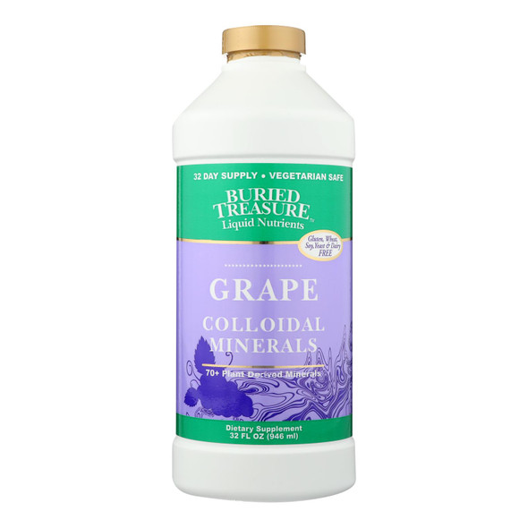 Buried Treasure 70 Plus Plant Derived Minerals Concord Grape - 32 Fl Oz