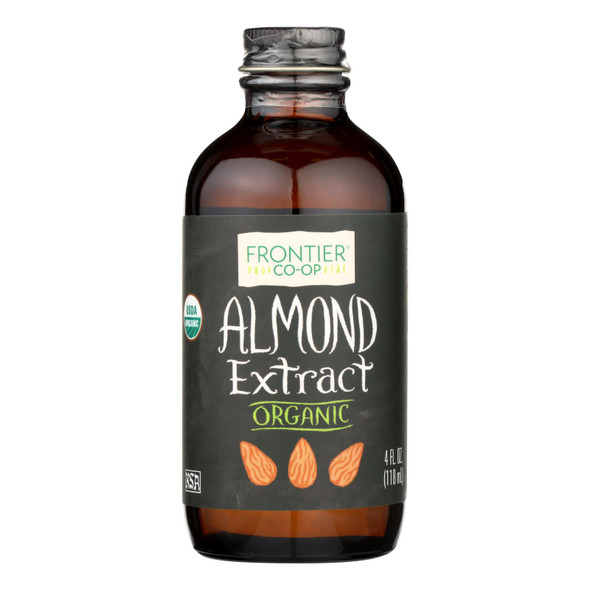 Frontier Herb Almond Extract - Organic - 4 Oz