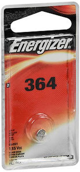 Energizer Zero Mercury Watch/Electronic Silver Oxide Battery Size 364 - 1 ea