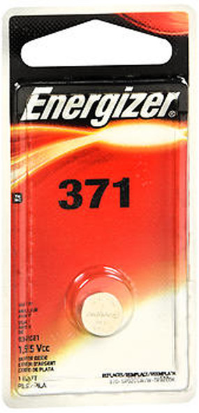 Energizer Zero Mercury Watch/Electronic Silver Oxide Battery 371 - 1 Each