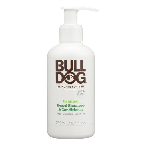 Bulldog Natural Skincare Beard Shampoo - Conditioner - Original - 6.7 Fl Oz