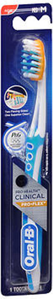 Oral-B Pro-Health Clinical Pro-Flex Toothbrush Compact Head Medium - 1 Each
