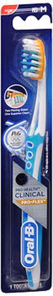 Oral-B Pro-Health Clinical Pro-Flex Toothbrush Compact Head Medium - 1 Each