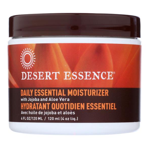 Desert Essence Facial Mositurizer - Daily Essential - 4 Fl Oz