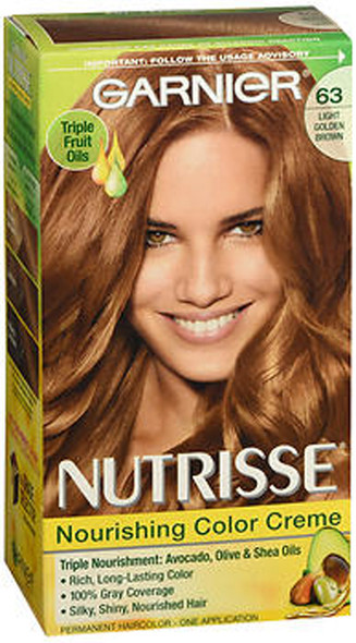 Garnier Nutrisse Haircolor - 63 Brown Sugar (Light Golden Brown)