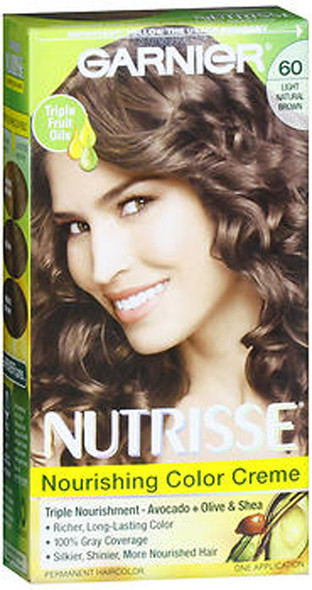 Garnier Nutrisse Nourishing Color Creme Permanent Haircolor Acorn (Light Natural Brown)