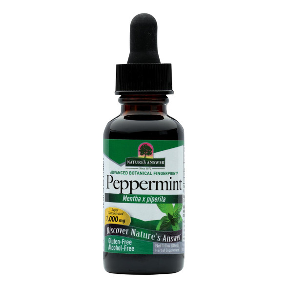 Nature's Answer Peppermint Leaf Alcohol Free - 1 Fl Oz