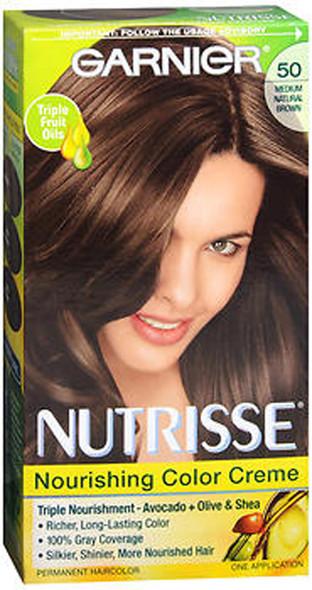Garnier Nutrisse Haircolor 50 Truffle Medium Natural Brown