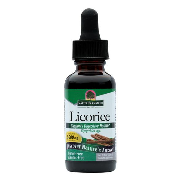Nature's Answer Licorice Root - 1 Fl Oz