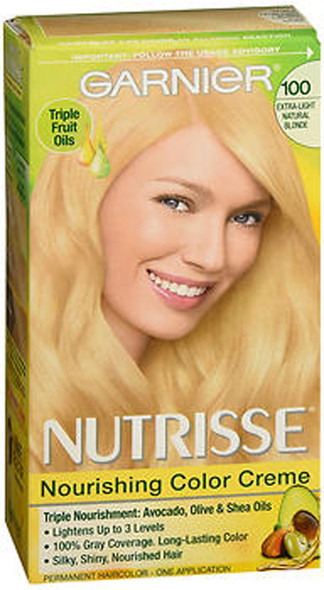 Garnier Nutrisse Nourishing Color Creme Permanent Haircolor Chamomile (Extra-Light Natural Blonde)