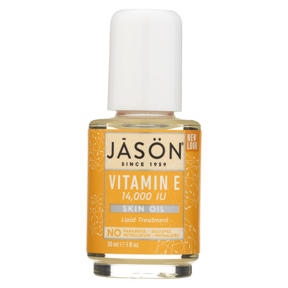 Jason Vitamin E Pure Beauty Oil - 14000 Iu - 1 Fl Oz