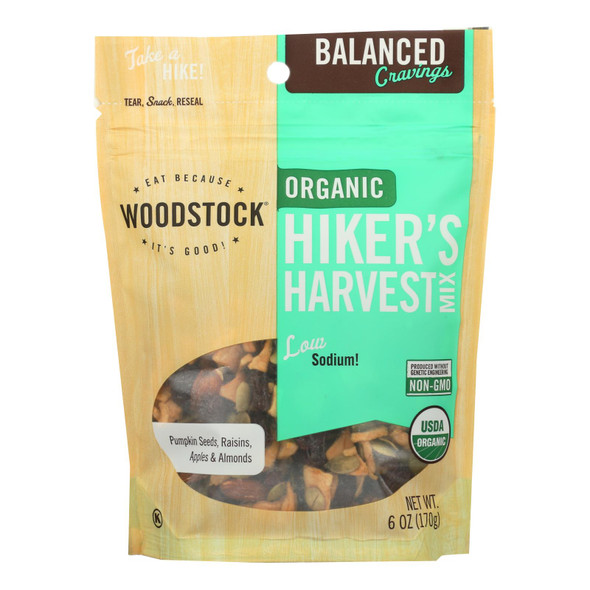 Woodstock Organic Hikers Harvest Snack Mix - 6 Oz.