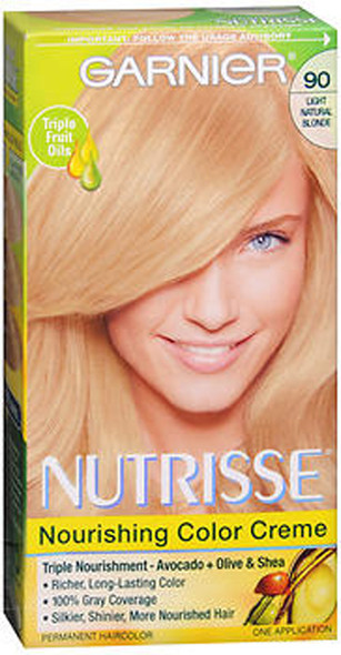 Garnier Nutrisse Haircolor - 90 Macadamia (Light Natural Blonde)