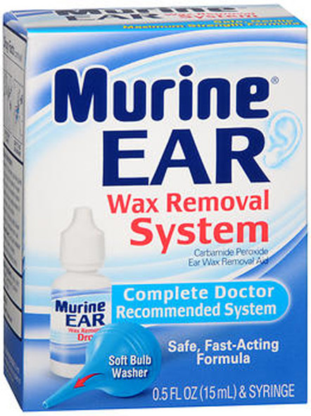 Murine Ear Wax Removal System Drops - 0.5 oz